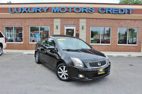 2012 Nissan Sentra for sale at Luxury Motors Credit Inc in Bridgeview IL