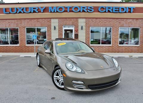 2010 Porsche Panamera for sale at Luxury Motors Credit Inc in Bridgeview IL