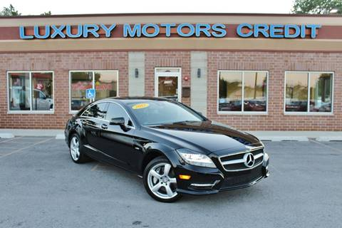 2012 Mercedes-Benz CLS for sale at Luxury Motors Credit Inc in Bridgeview IL