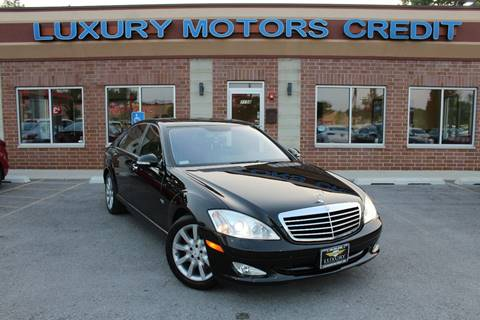 2007 Mercedes-Benz S-Class for sale at Luxury Motors Credit Inc in Bridgeview IL