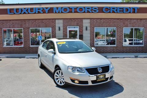 2010 Volkswagen Passat for sale at Luxury Motors Credit Inc in Bridgeview IL