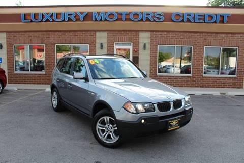 2004 BMW X3 for sale at Luxury Motors Credit Inc in Bridgeview IL