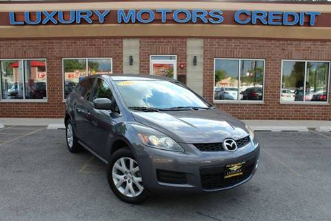 2008 Mazda CX-7 for sale at Luxury Motors Credit Inc in Bridgeview IL