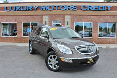 2008 Buick Enclave for sale at Luxury Motors Credit Inc in Bridgeview IL