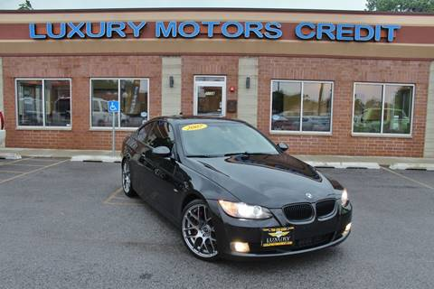 2007 BMW 3 Series for sale at Luxury Motors Credit Inc in Bridgeview IL