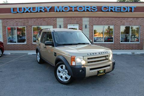 2006 Land Rover LR3 for sale at Luxury Motors Credit Inc in Bridgeview IL