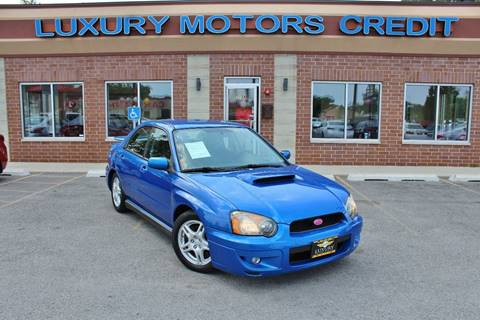 2004 Subaru Impreza for sale at Luxury Motors Credit Inc in Bridgeview IL