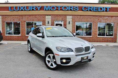2012 BMW X6 for sale at Luxury Motors Credit Inc in Bridgeview IL