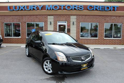 2011 Nissan Sentra for sale at Luxury Motors Credit Inc in Bridgeview IL