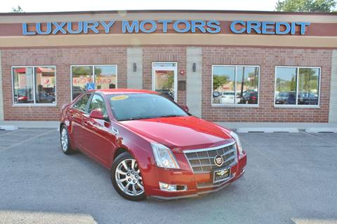 2008 Cadillac CTS for sale at Luxury Motors Credit Inc in Bridgeview IL