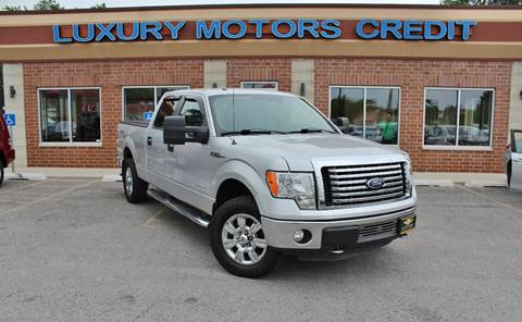 2012 Ford F-150 for sale at Luxury Motors Credit Inc in Bridgeview IL