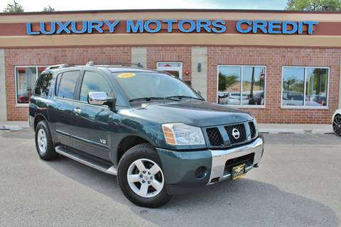 2005 Nissan Armada for sale at Luxury Motors Credit Inc in Bridgeview IL