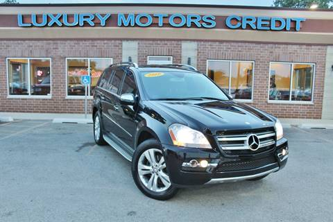 2010 Mercedes-Benz GL-Class for sale at Luxury Motors Credit Inc in Bridgeview IL