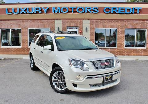 2011 GMC Acadia for sale at Luxury Motors Credit Inc in Bridgeview IL