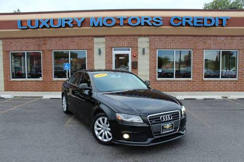2009 Audi A4 for sale at Luxury Motors Credit Inc in Bridgeview IL