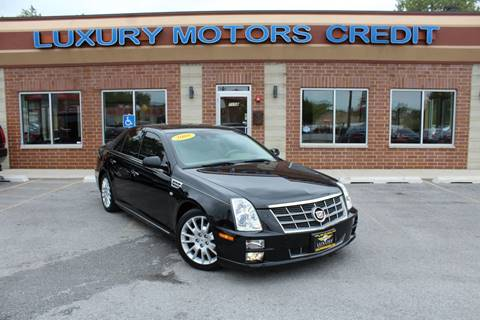 2008 Cadillac STS for sale at Luxury Motors Credit Inc in Bridgeview IL