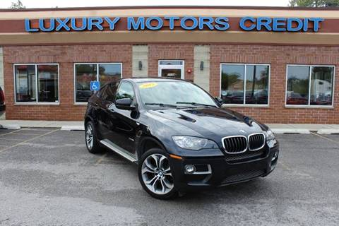 2013 BMW X6 for sale at Luxury Motors Credit Inc in Bridgeview IL