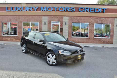 2012 Volkswagen Jetta for sale at Luxury Motors Credit Inc in Bridgeview IL