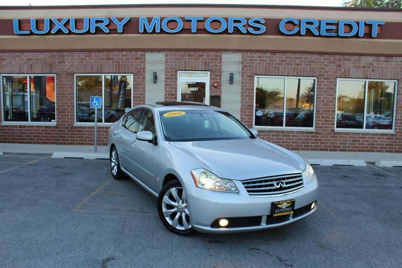 2006 infiniti m35 sport 4dr sedan in bridgeview il ForLuxury Motors Bridgeview Il