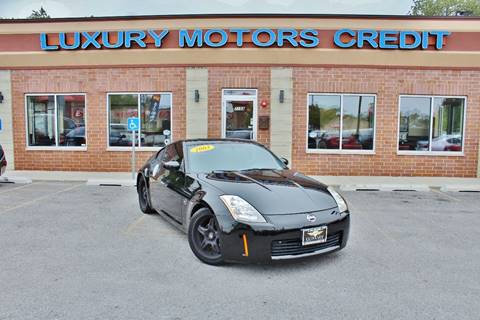 2003 Nissan 350Z for sale at Luxury Motors Credit Inc in Bridgeview IL