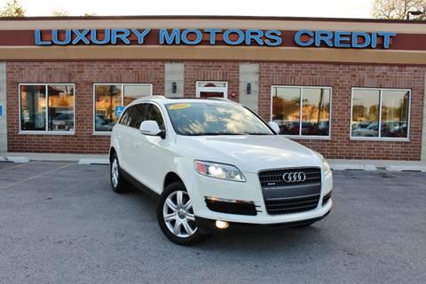 2008 Audi Q7 for sale at Luxury Motors Credit Inc in Bridgeview IL