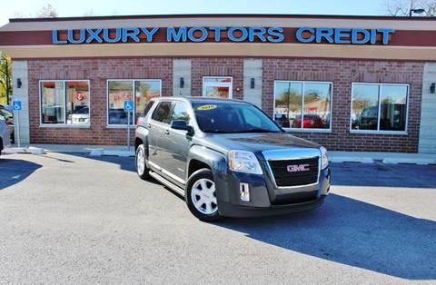 2010 GMC Terrain for sale at Luxury Motors Credit Inc in Bridgeview IL