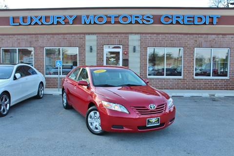 2007 Toyota Camry for sale at Luxury Motors Credit Inc in Bridgeview IL