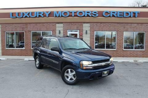 2006 Chevrolet TrailBlazer for sale at Luxury Motors Credit Inc in Bridgeview IL