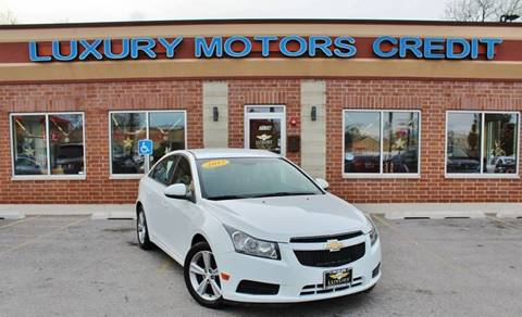 2013 Chevrolet Cruze for sale at Luxury Motors Credit Inc in Bridgeview IL