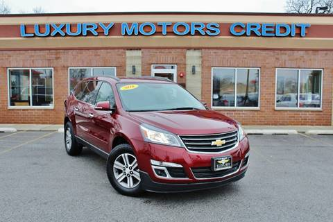 2016 Chevrolet Traverse for sale at Luxury Motors Credit Inc in Bridgeview IL
