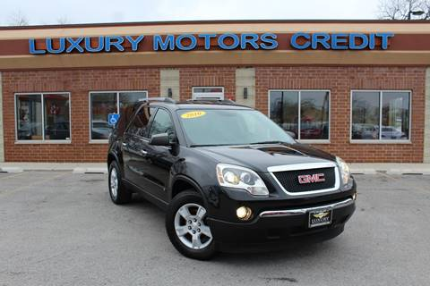 2010 GMC Acadia for sale at Luxury Motors Credit Inc in Bridgeview IL