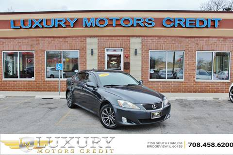 2008 Lexus IS 250 for sale at Luxury Motors Credit Inc in Bridgeview IL