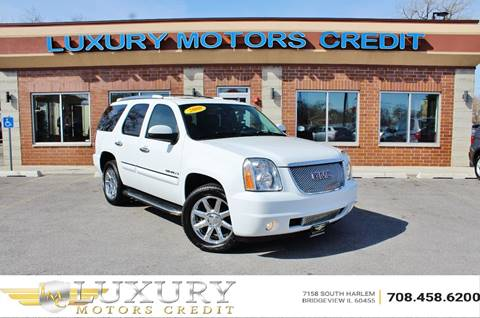 2008 GMC Yukon for sale at Luxury Motors Credit Inc in Bridgeview IL