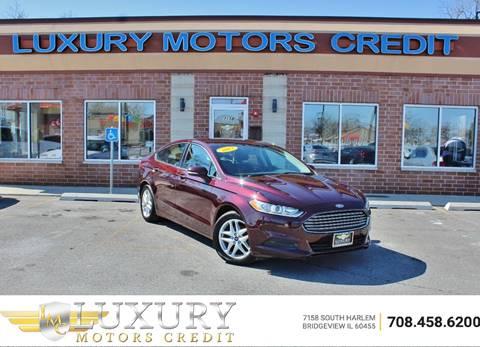 2013 Ford Fusion for sale in Bridgeview, IL
