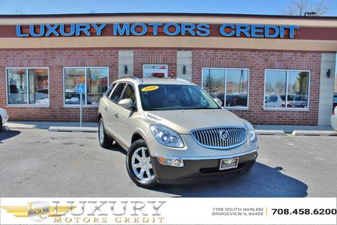 2009 Buick Enclave for sale at Luxury Motors Credit Inc in Bridgeview IL