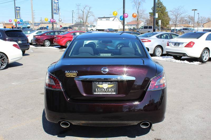 2014 nissan maxima 3 5 s 4dr sedan in bridgeview il for Luxury motors bridgeview il