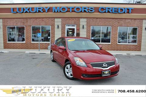 2007 Nissan Altima for sale at Luxury Motors Credit Inc in Bridgeview IL