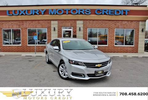 2016 Chevrolet Impala for sale at Luxury Motors Credit Inc in Bridgeview IL