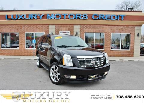 2010 Cadillac Escalade for sale at Luxury Motors Credit Inc in Bridgeview IL