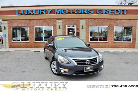 2013 Nissan Altima for sale at Luxury Motors Credit Inc in Bridgeview IL