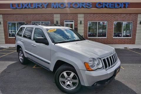 2008 Jeep Grand Cherokee for sale at Luxury Motors Credit Inc in Bridgeview IL
