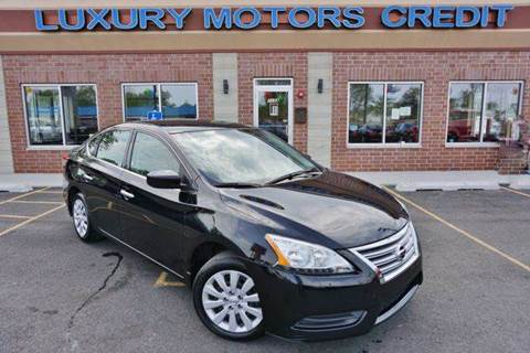 2014 Nissan Sentra for sale at Luxury Motors Credit Inc in Bridgeview IL