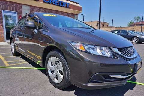 2013 Honda Civic for sale at Luxury Motors Credit Inc in Bridgeview IL