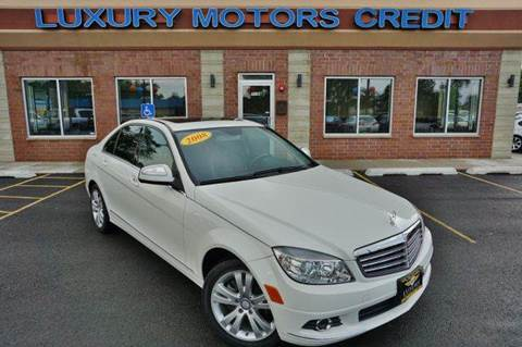 2008 Mercedes-Benz C-Class for sale at Luxury Motors Credit Inc in Bridgeview IL