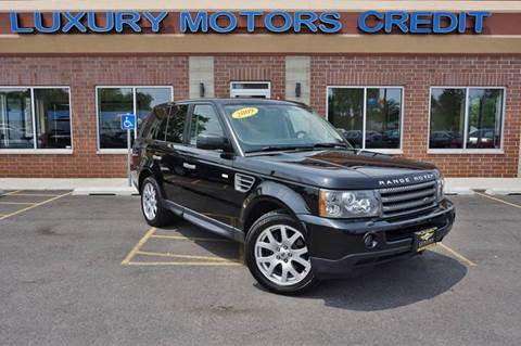 2009 Land Rover Range Rover Sport for sale at Luxury Motors Credit Inc in Bridgeview IL