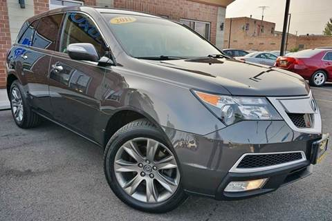 2011 Acura MDX for sale at Luxury Motors Credit Inc in Bridgeview IL