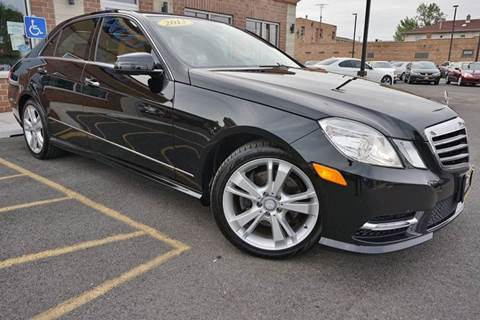 2013 Mercedes-Benz E-Class for sale at Luxury Motors Credit Inc in Bridgeview IL