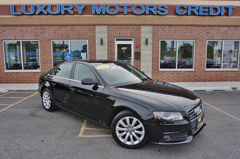 2010 Audi A4 for sale at Luxury Motors Credit Inc in Bridgeview IL