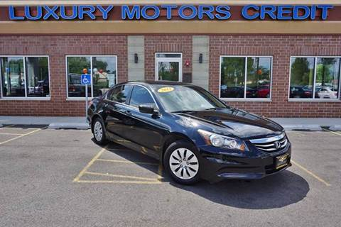 2012 Honda Accord for sale at Luxury Motors Credit Inc in Bridgeview IL
