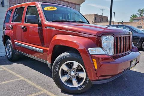 2008 Jeep Liberty for sale at Luxury Motors Credit Inc in Bridgeview IL